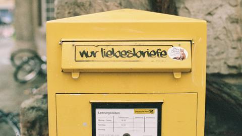 Briefkasten für Liebesbriefe