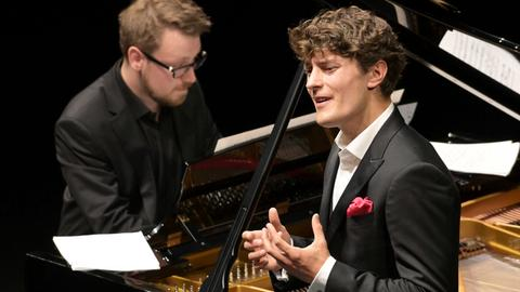 Jakub Józef Orliński (Countertenor) und Michał Biel (Klavier)