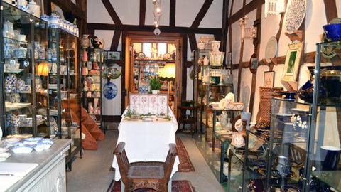 Keramiksammlung im Lindenhofmuseum