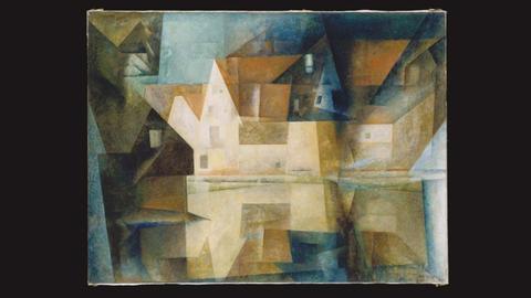 Lyonel Feininger Dorfteich von Gelmeroda 1922