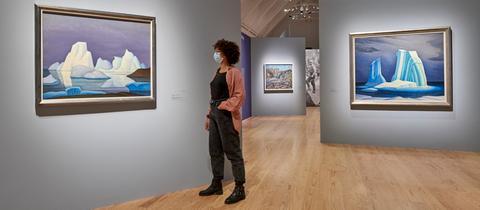 """Ausstellung """"Magnetic North"""" in der Kunsthalle Schirn"""