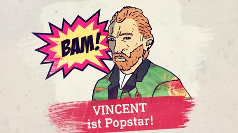 Stilisierter Vincent Van Gogh