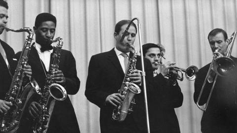 Das hr-Jazzensemble 1959 im Kantate-Saal