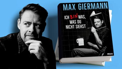 Max Giermann Ich bin was, was du nicht siehst Mock Up
