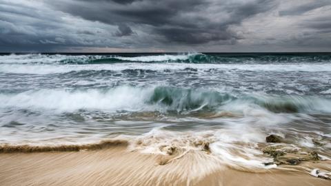 Mittelmeer Wellen