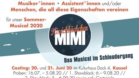Pfirsichbäckchen Mimi – Das Musical im Schleudergang