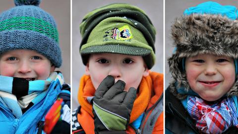 Mützen Strickmütze Winter Kinder