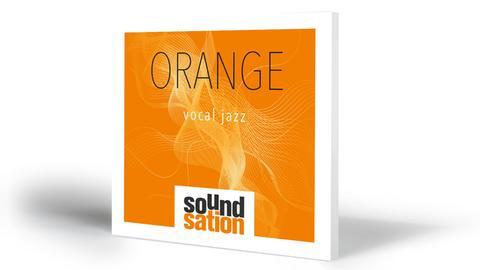 CD-Mockup Orange Vocal Jazz