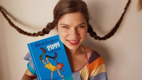 Nele Pollatschek als Pippi Langstrumpf