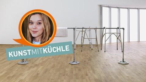 """Kunst mit Küchle: """"Stockade"""""""