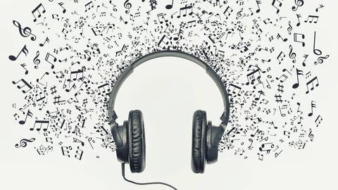 Musik, Kopfhörer, Note