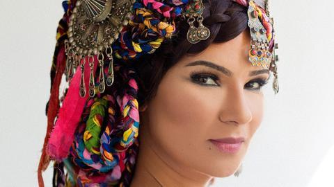 Die marokkanische Sängerin Oum.
