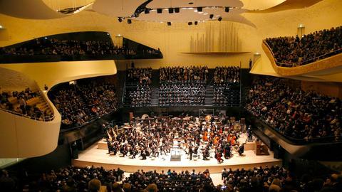 """Das """"Orchestre de Paris"""" in der Pariser Philharmonie"""