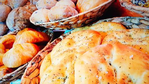 Pitabrötchen aus dem Café Morcolade