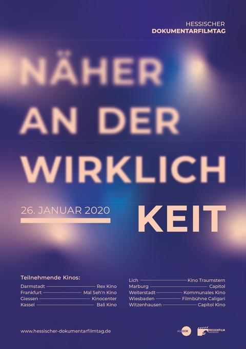 Plakat HESSISCHEN DOKUMENTARFILMTAG