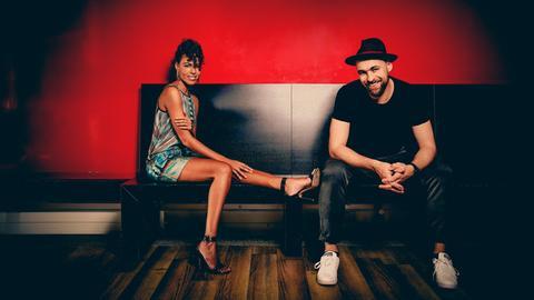 Marialy Pacheco und Max Mutzke