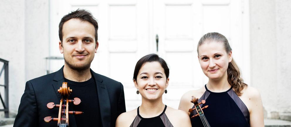Das Trio Marvin: Marius Urba, Cello; Vita Kan, Klavier; Marina Grauman, Geige