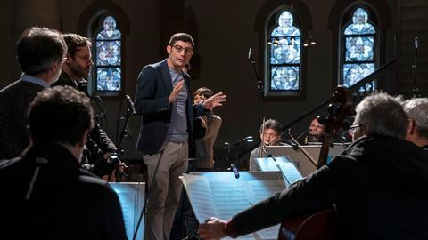 Giulio Prandi bei den Tagen Alter Musik in Herne am 17. November 2019