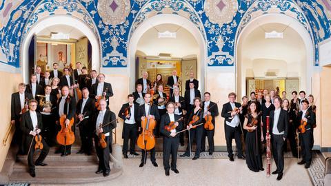 Das Münchner Rundfunkorchester begleitet die Preisträger des 70. Internationalen Musikwettbewerbs der ARD im Prinzregententheater München.