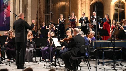 Die Gabrieli Consort & Players unter der Leitung von Paul McCreesh.