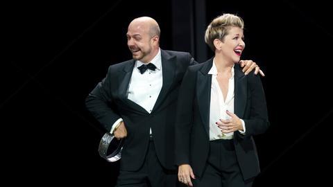 Joyce DiDonato als Agrippina und Gianluca Buratto als Claudio