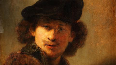 Rembrandt: Selbstbildnis