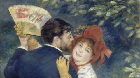 Pierre-Auguste Renoir: Tanz auf dem Land, Musée d'Orsay, Paris