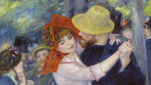 Pierre-Auguste Renoir: Tanz in Bougival, Museum of Fine Arts, Boston