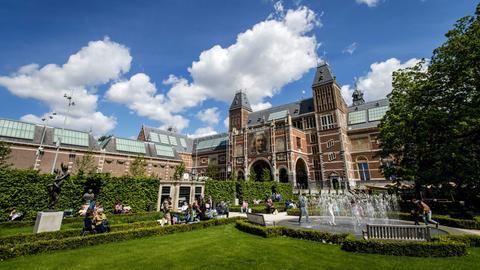 Rijksmuseum Amsterdam Rückseite