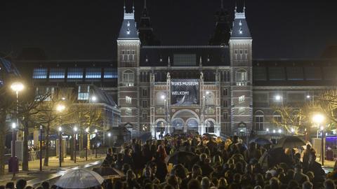 Rijksmuseum Amsterdam Wiedereröffnung