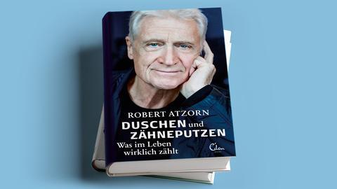 Robert Atzorn Duschen und Zähneputzen Mock Up