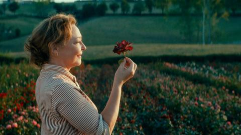 """Catherine Frot als Eve Vernet in einer Szene des Films """"Der Rosengarten von Madame Vernet"""""""
