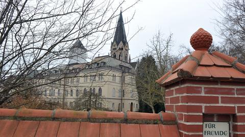 Blick auf das Benediktinerkloster St. Ottilien