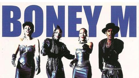 Schallplatte von Boney M