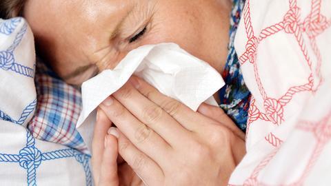 Schnupfen Taschentuch Erkältung
