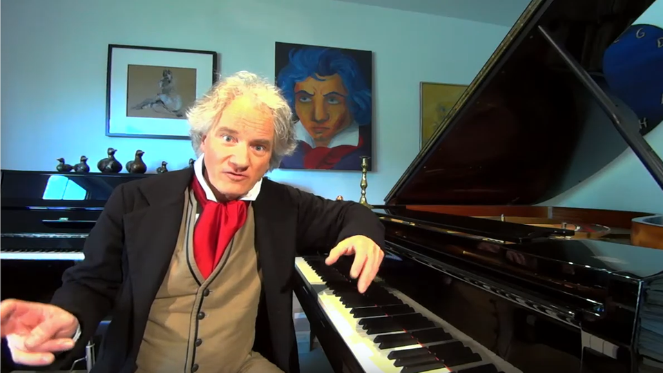 Christoph Ullrich als Beethoven