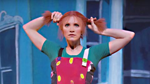 Pippi Langstrumpf an der Oper Helsinki