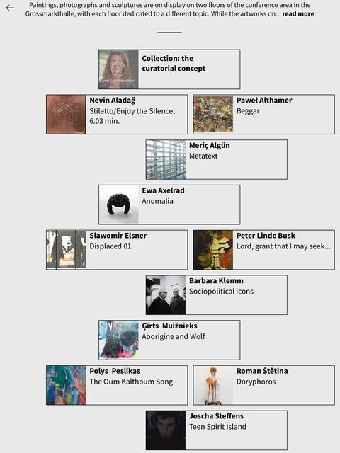 Kunst-App der EZB