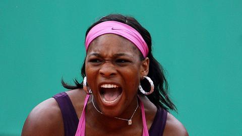 Serena Williams wütend