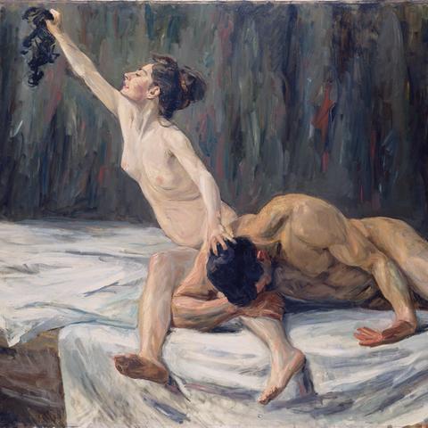 Bilder aus dem Städel zum Herunterladen - Max Liebermann, Simson und Delila, 1902