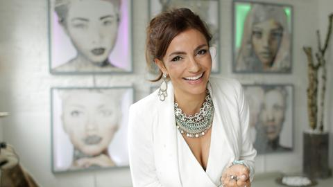 Malerin Shirin Donia