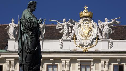 Detail der Wiener Hofburg