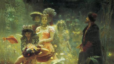 Ilja Repin: Sadko im Unterwasserreich