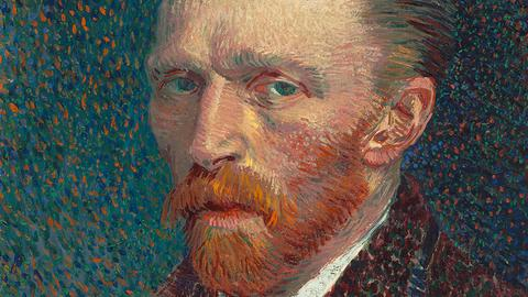 Vincent van Gogh, Selbstporträt, 1887