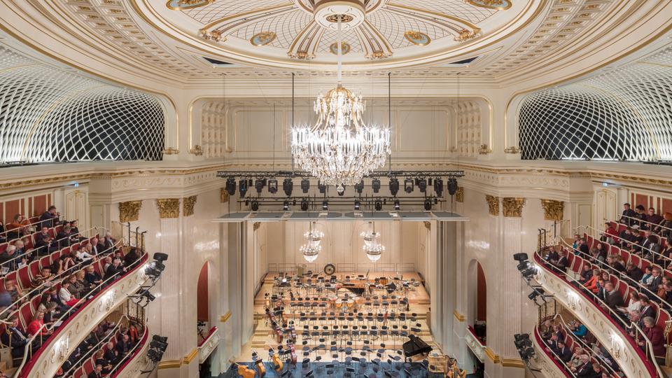 Staatsoper Unter den Linden Berlin, Saalansicht Konzertzimmer