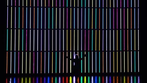 """Staatstheater Wiesbaden: Lichtinstallation """"Licht ins Dunkle"""""""