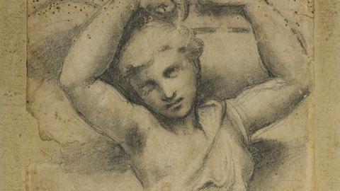 Raffael, Karyatide, ca. 1520