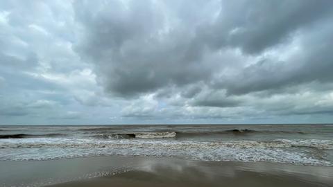 Der Strand von Oostende, Belgien