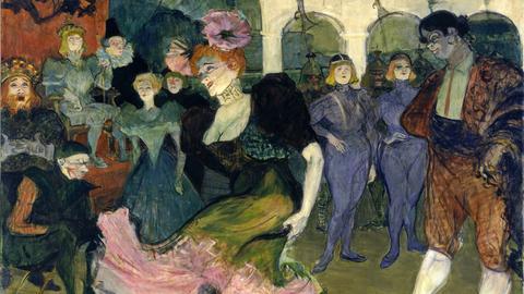 Henri de Toulouse-Lautrec: Marcelle Lender tanzt den Bolero in Chilpéric