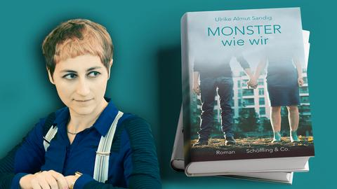 Ulrike Almut Sandig Monster wie wir Mock Up